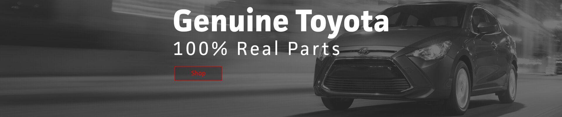 Shop Genuine Toyota Parts
