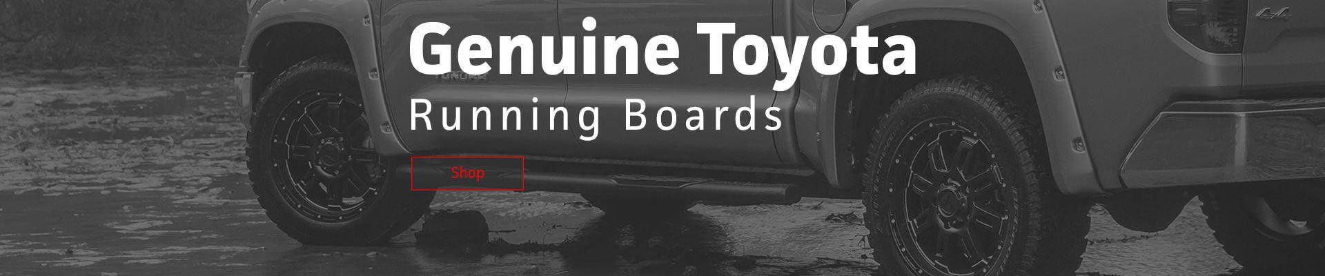 Toyota Running Boards