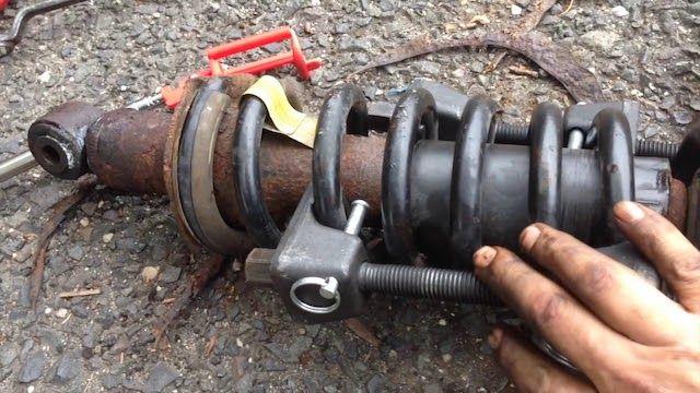 Replace shocks struts