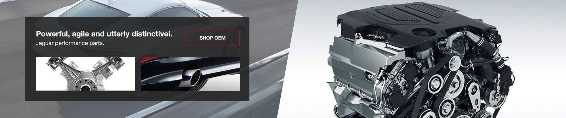 Jaguar OEM Performance Parts