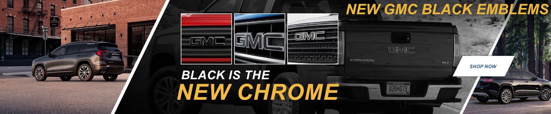 GMC Black Chrome