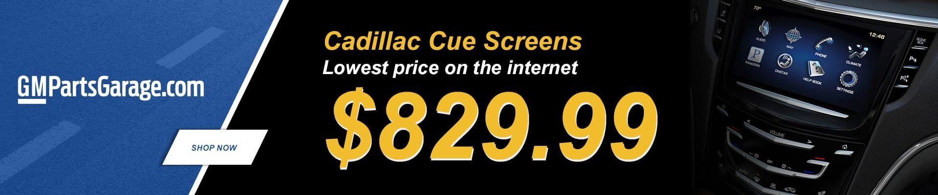 Cadillac Cue Screens