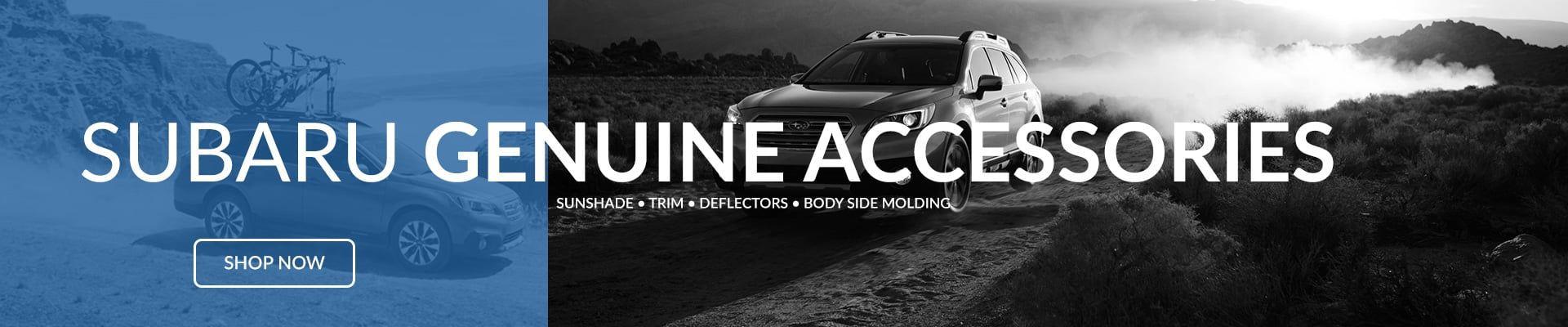 Subaru OEM Accessories