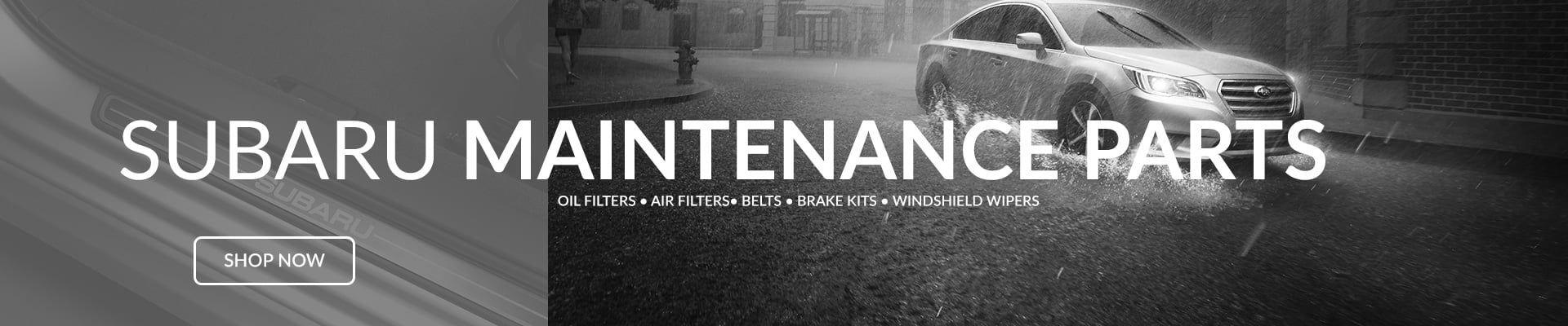 Subaru Maintenance Parts