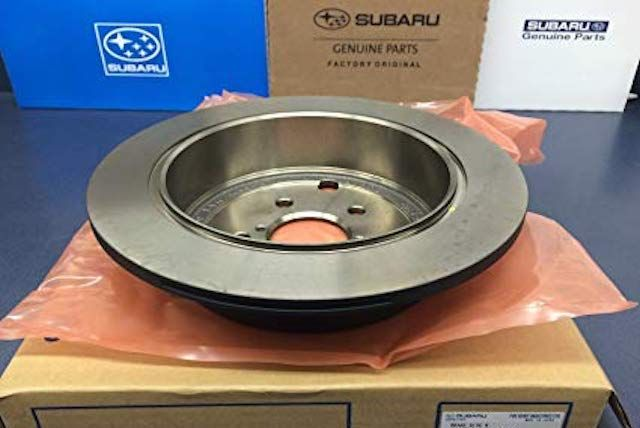 New Subaru Brake Rotors