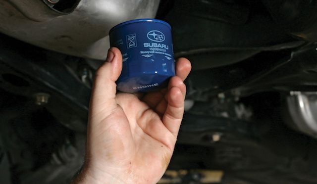 New Subarua Oil Filter