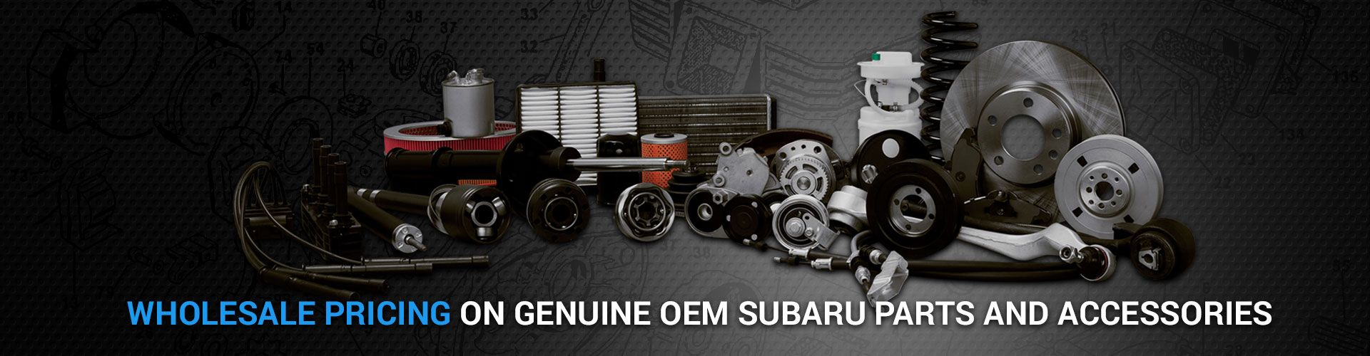 Genuine OEM Subaru Parts and Accessories