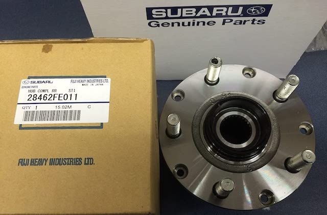 New OEM Subaru hub
