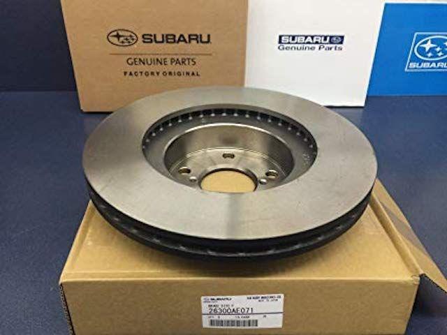 Subaru rotor boxed