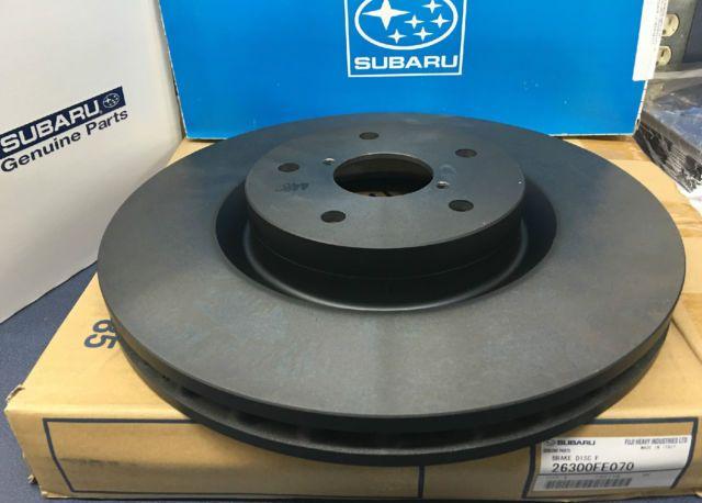 OEM Subaru rotor