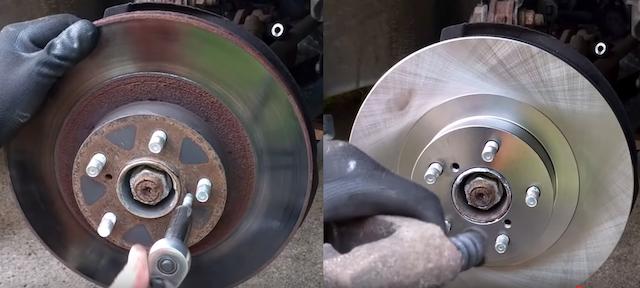 Subie rotors