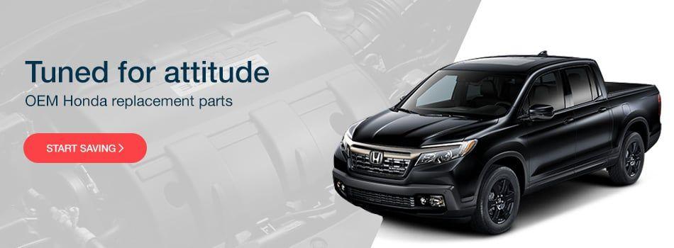 Genuine OEM Honda Parts