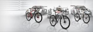 Porsche Golf and cycling equipment.
