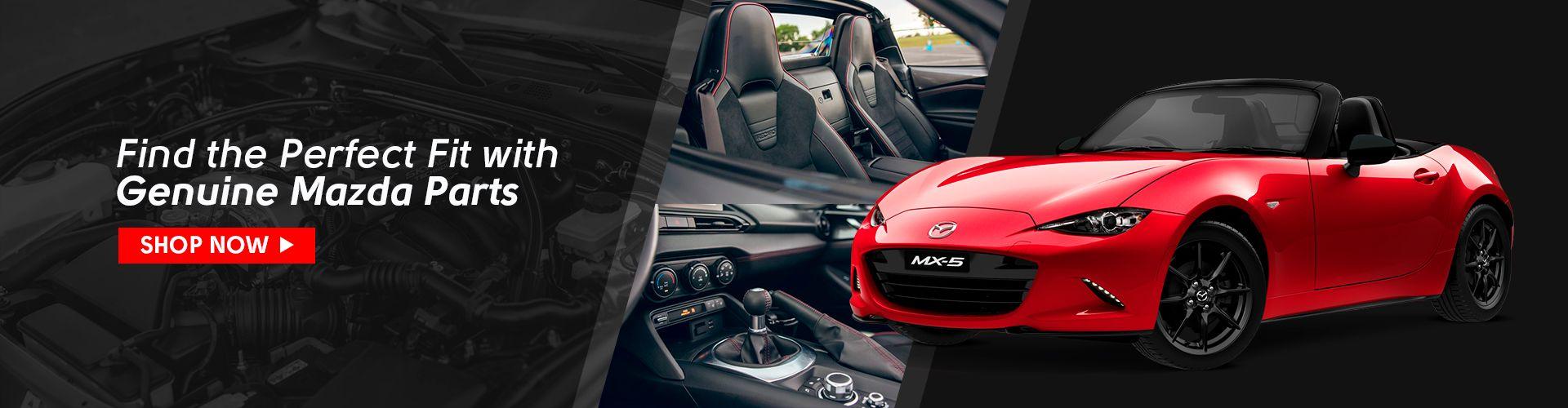 Shop Genuine Mazda Parts and Accessories