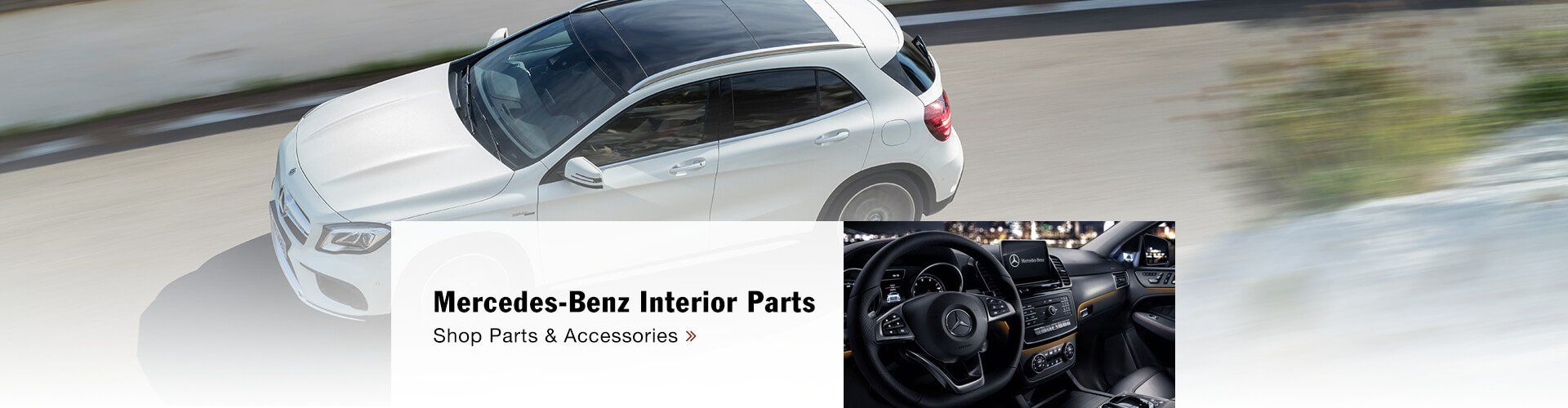 Genuine Mercedes-Benz Interior Accessories