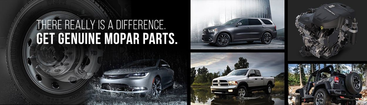 Genuine OEM Mopar Parts and Accessories