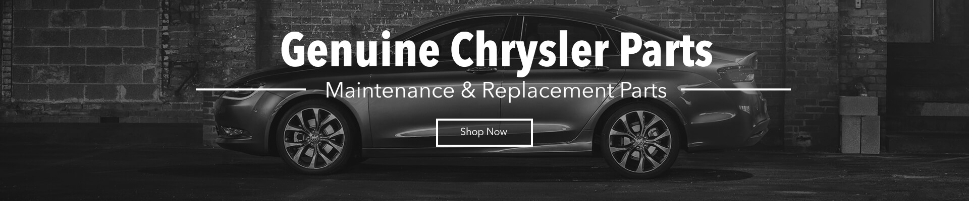Genuine Chrysler Parts