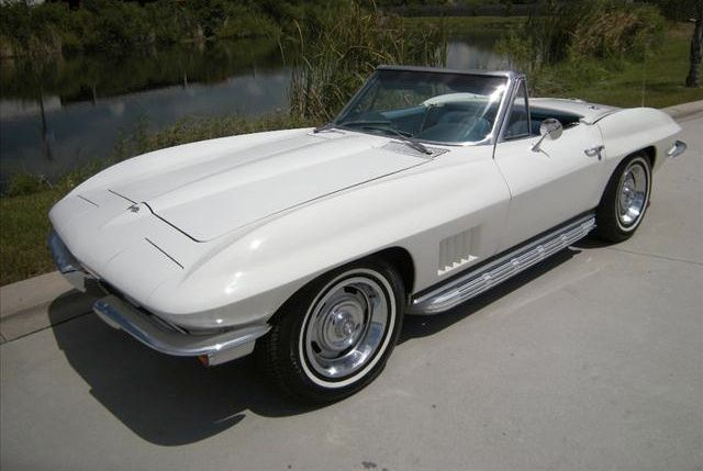 67 chevy corvette convertible