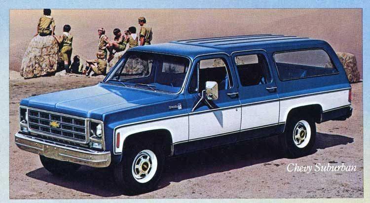 79 suburban chevy truck