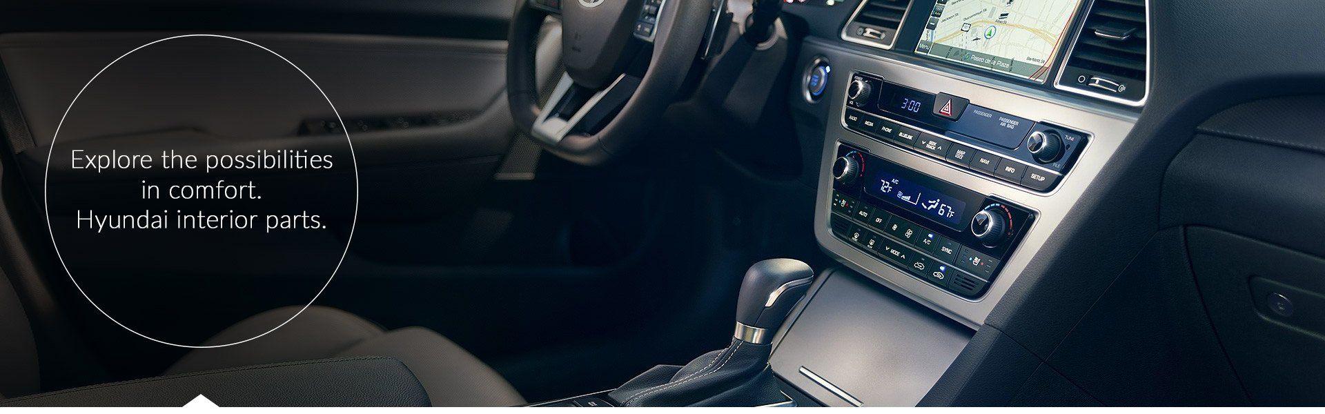 Hyundai interior accessories