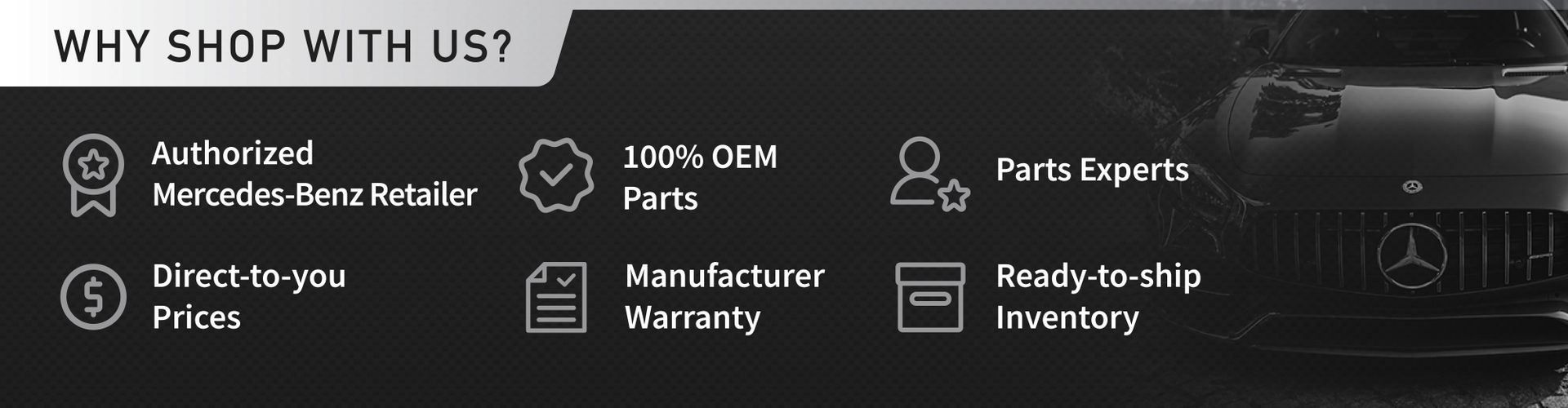 OEM Mercedes-Benz Parts and Accessories for sale