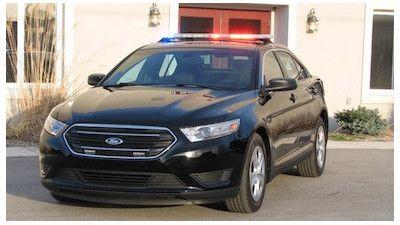 Ford Special Service Police Sedan