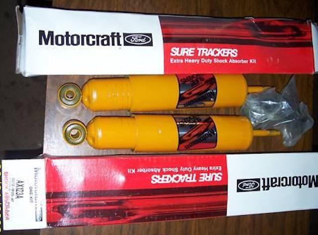 Motorcraft shocks