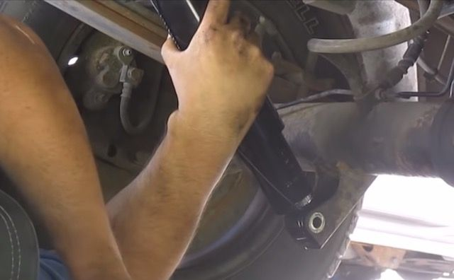 Replace ford shock
