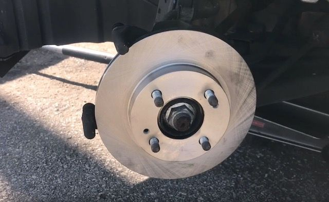 Mitsu rotor installed