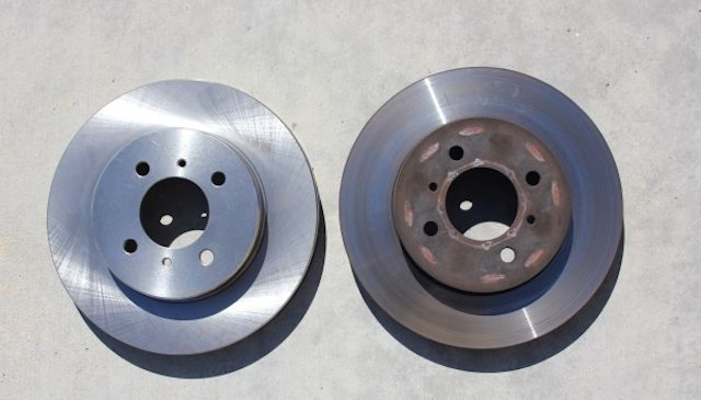 Old new rotors