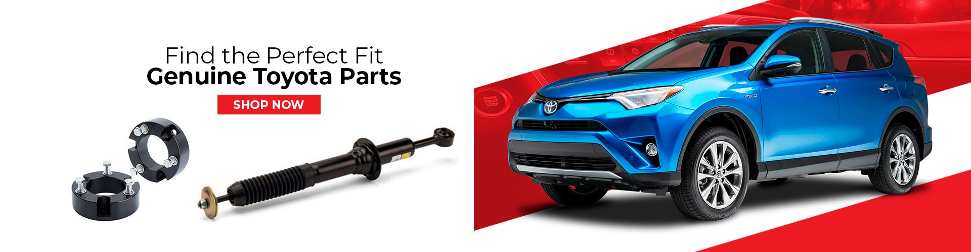 Shop Genuine Toyota Parts and Accessories