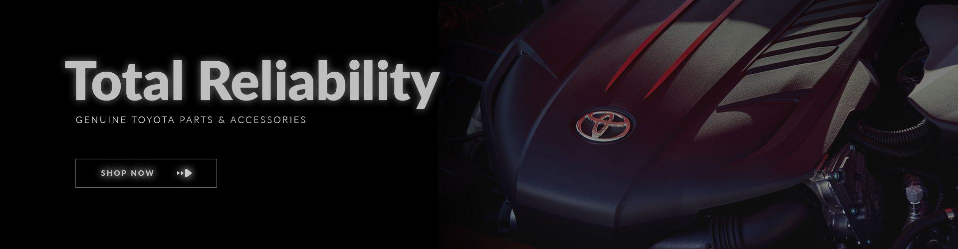 Shop OEM Toyota Parts & Accessories