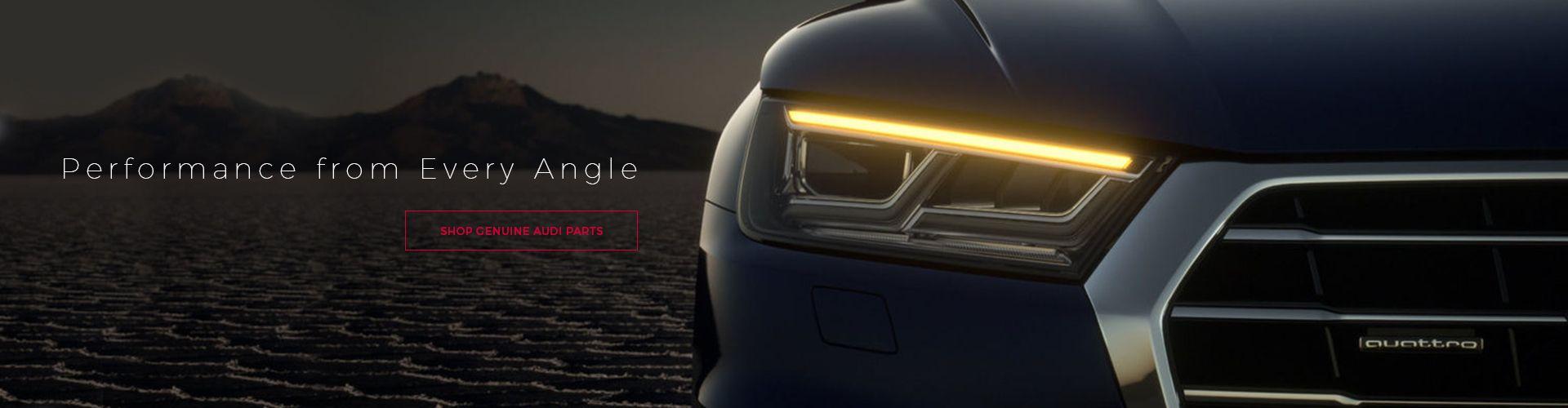 Audi Parts Online Banner 3