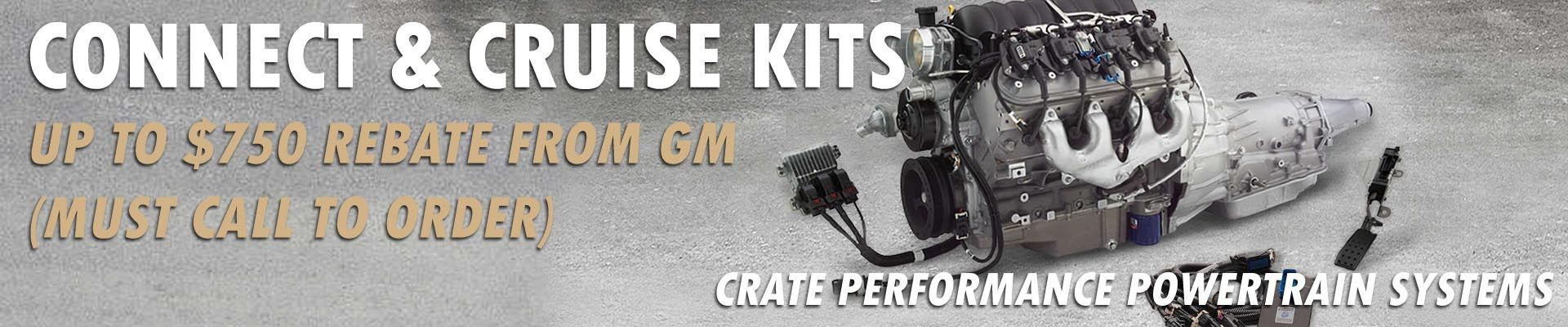 gm connect and cruise kit - national gm parts