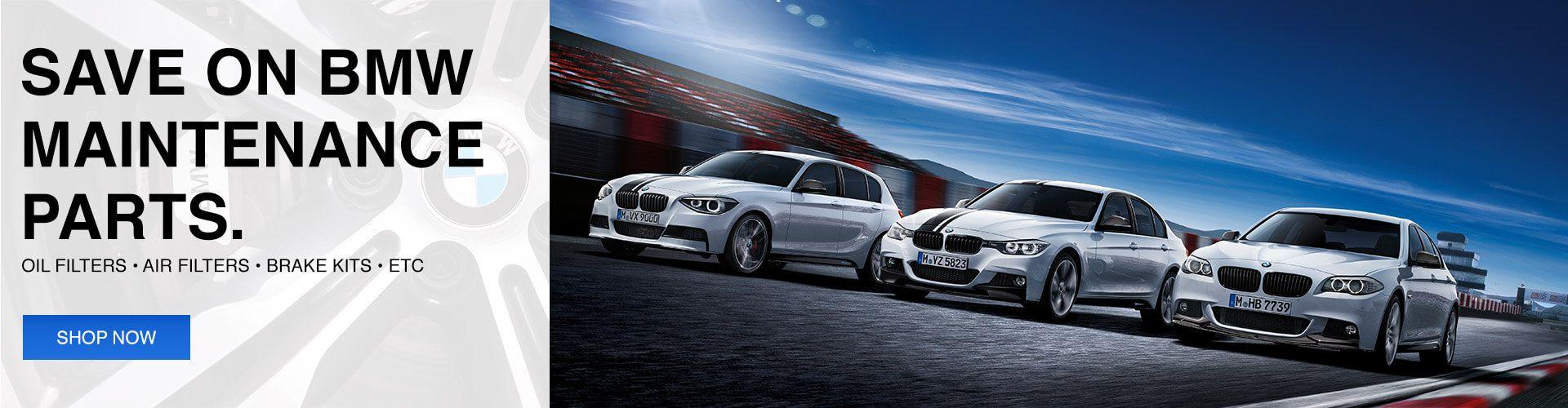 BMW OEM Maintenance Parts