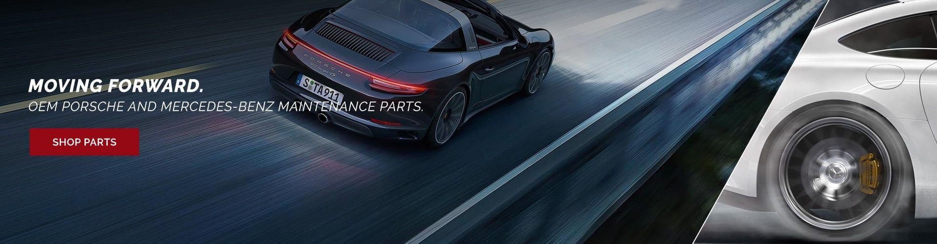 Porsche and Mercedes-Benz Maintenance Parts