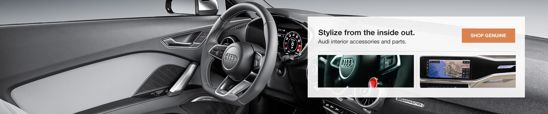 Audi Interior Accessories and Parts