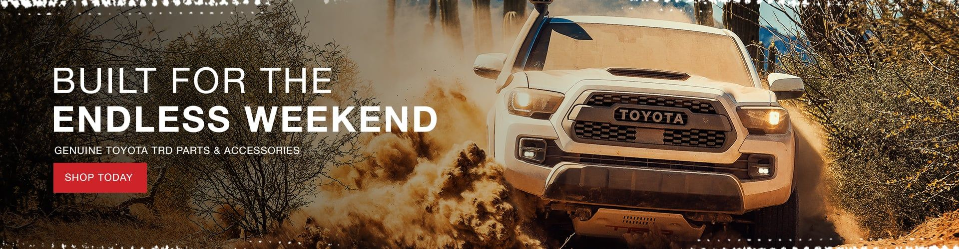 Genuine TRD Parts & Accessories