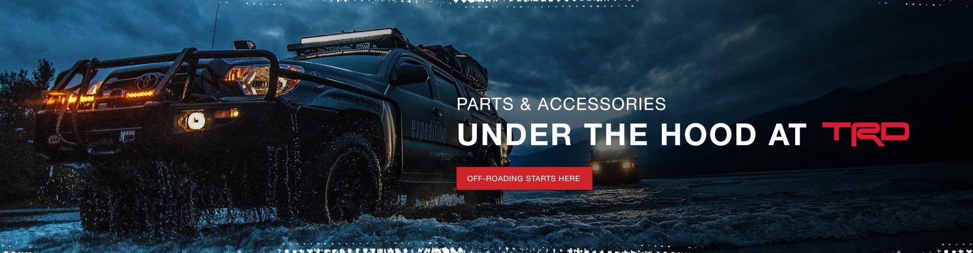 TRD Parts & Accessories