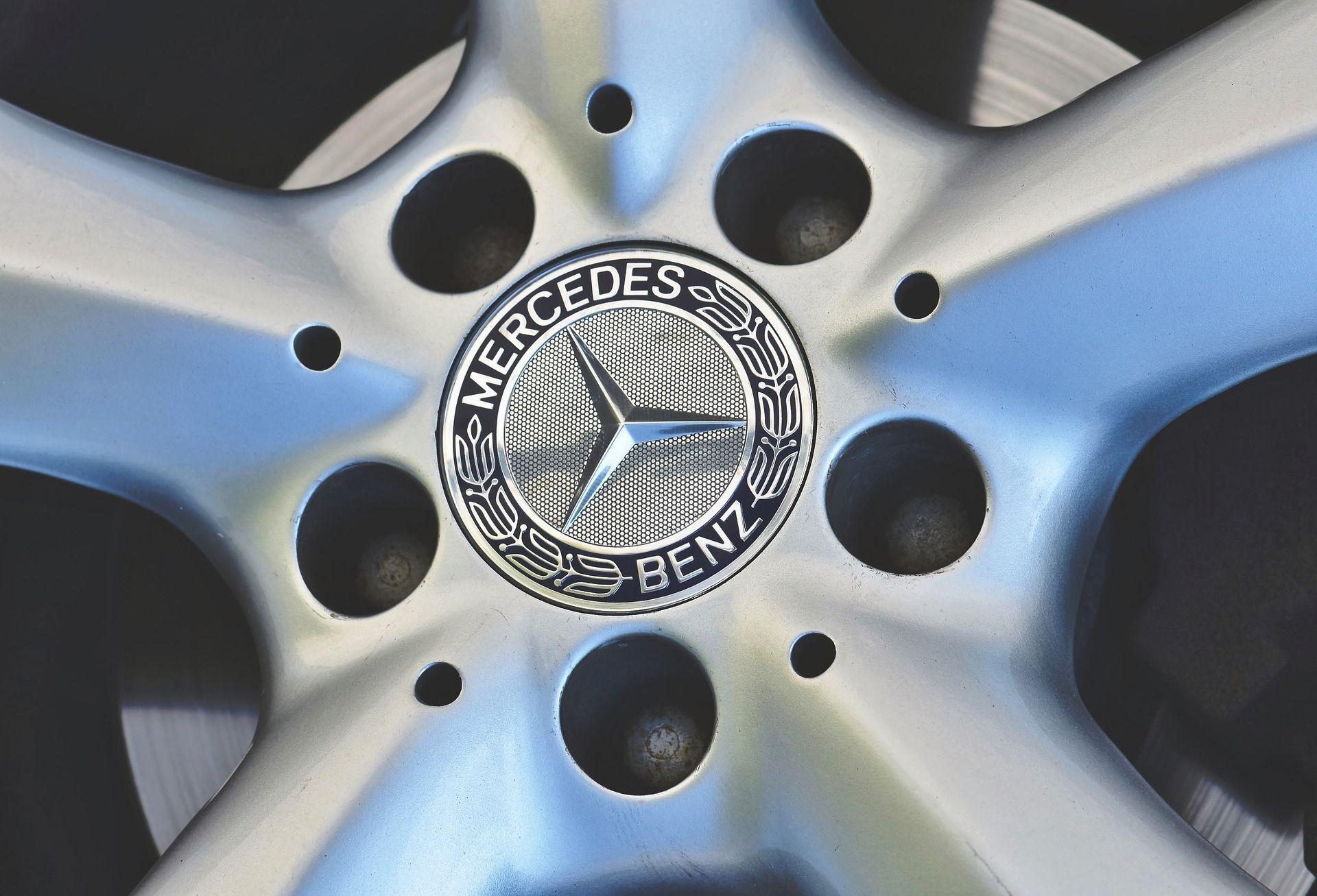 OEM Mercedes Wheel