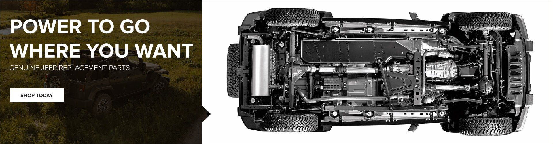 Genuine Jeep Replacement Parts