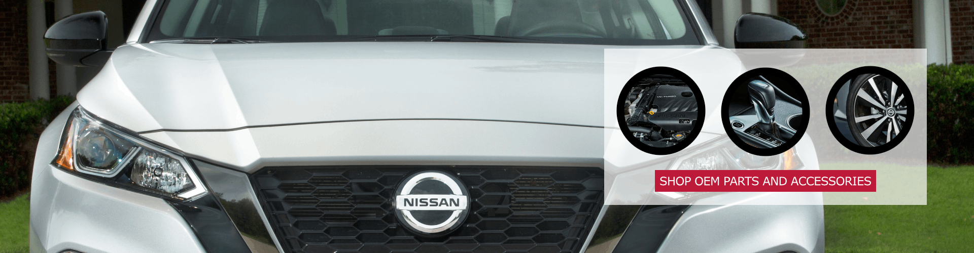 OEM Nissan parts and accessories