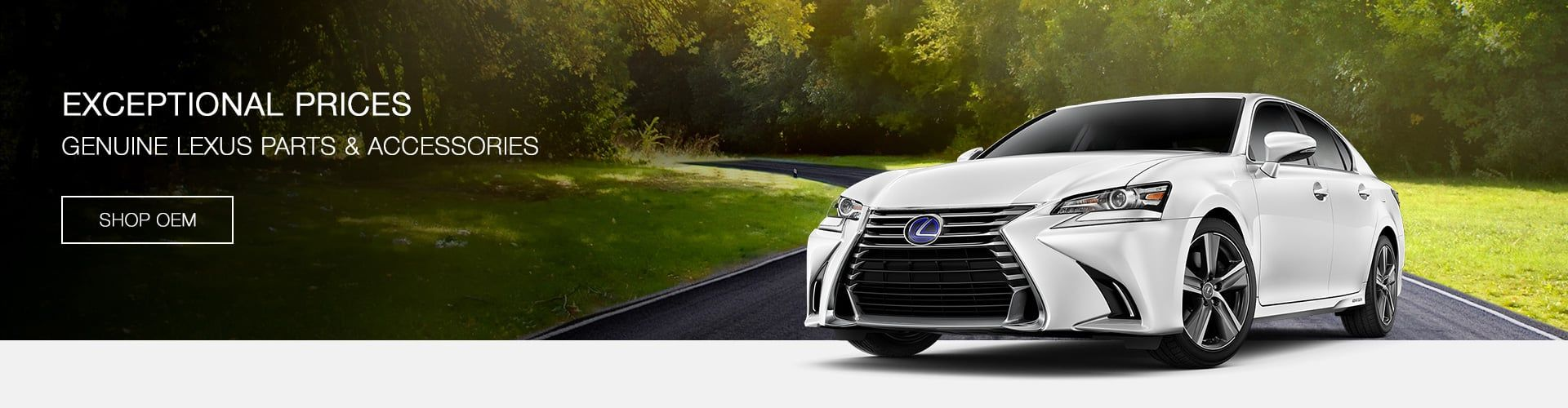 Genuine Lexus Parts & Accessories