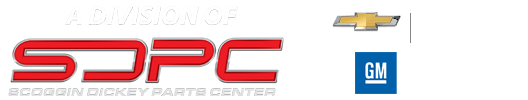 GMWarehouseDirect.com - Scoggin Dickey Parts Center - SDPC Logo