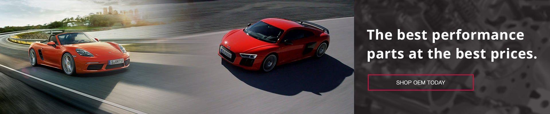 Performance Audi and Porsche Parts