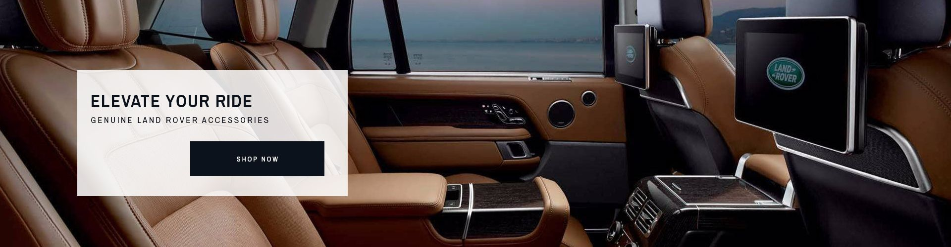OE Land Rover Accessories