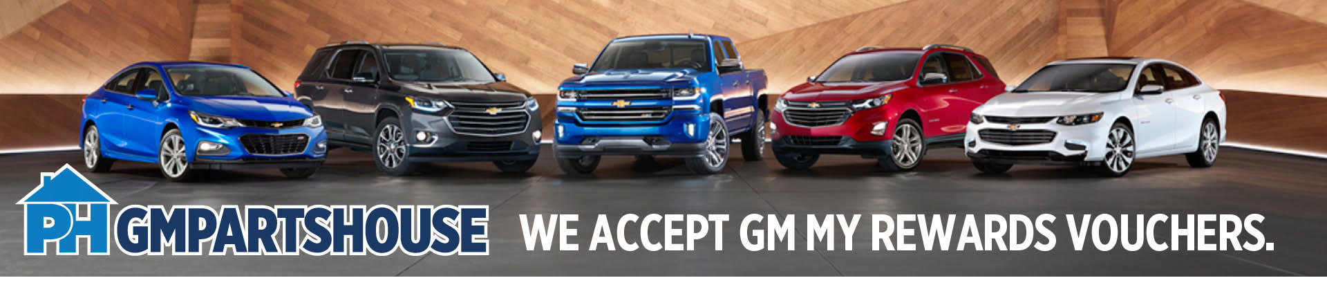 GM Parts House Banner 1