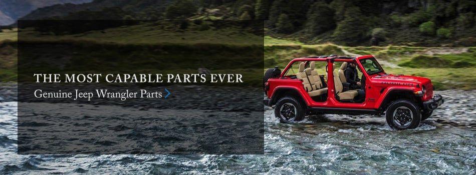 Genuine Jeep Wrangler Parts