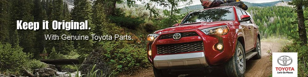 Genuine Toyota OEM Parts | Vandergriff Toyota