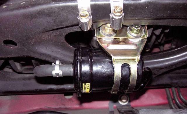 Mazda fuel filter